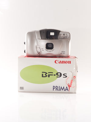 Canon Prima BF-9s 35mm Point & Shoot Film Camera with 32mm Lens