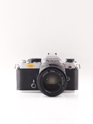 Nikon FM 35mm SLR film camera with 50mm f1.4 lens