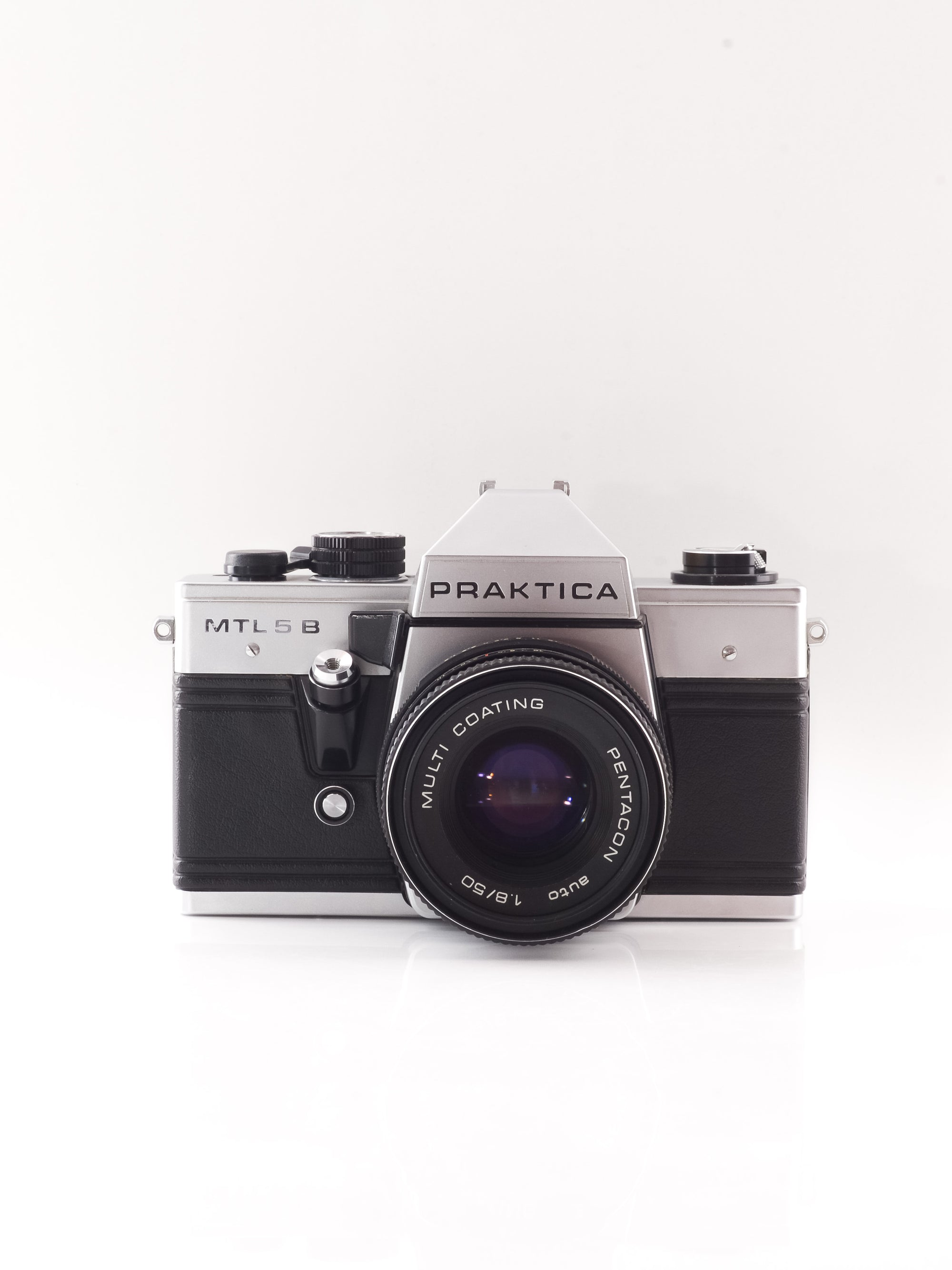 Praktica MTL 5B 35mm SLR Film Camera with 50mm f1.8 Lens