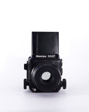 Mamiya RZ67 Pro Medium Format film camera with 140mm f4.5 Marco lens