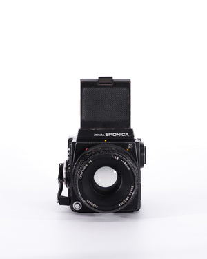 Bronica SQ-A Medium Format film camera with 80mm f2.8 lens