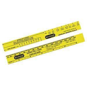 Ring Bracelet Gauge Ruler - B Golden Jewelry School