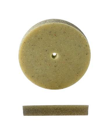 PUMICE WHEEL SQUARE EDGE 7/8-GREEN - B Golden Jewelry School