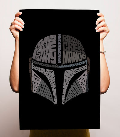 Bounty Hunter Print