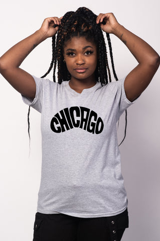 Chicago Bean Tee for Women