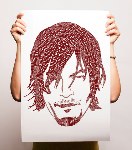 The Walking Dead Daryl Dixon Print