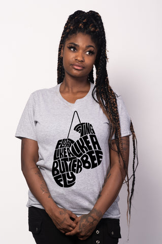 Float Like a Butterfly Tee for Women