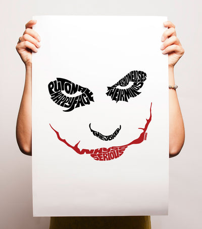 Why So Serious Joker Print