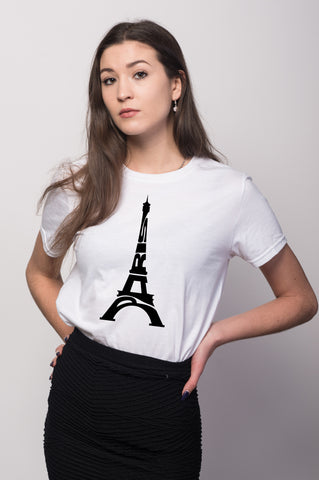 Paris Eiffel Tower Tee for Women