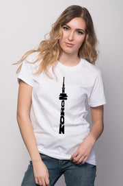 Toronto CN Tower Tee for Women