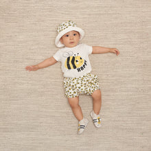 Load image into Gallery viewer, Bumblebee Baby Shorts, Unisex clothing, Bonnie Mob Baby Clothing