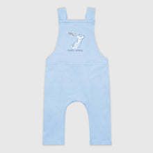 Load image into Gallery viewer, SMALL STORIES Blue Hare Dungarees