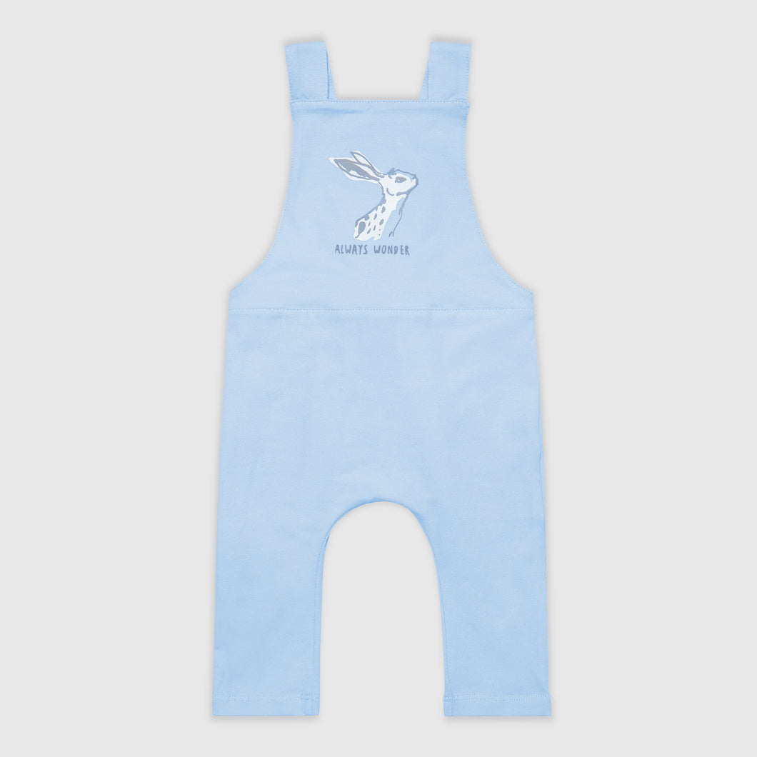 SMALL STORIES Blue Hare Dungarees
