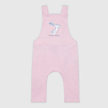 Load image into Gallery viewer, SMALL STORIES Pink Hare Dungarees