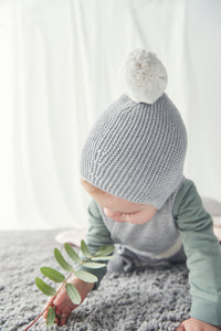 Mori Knitted Bonnet Hat
