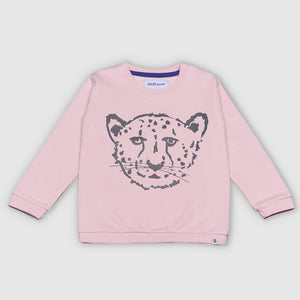 SMALL STORIES Pink Cheetah Sweater