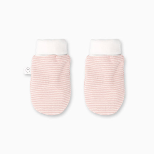 Baby Pink Mittens, Organic Cotton