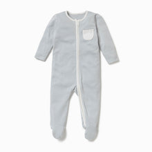 Load image into Gallery viewer, MORI Zip Up Sleepsuit