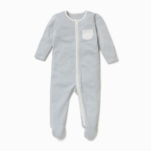 MORI Zip Up Sleepsuit