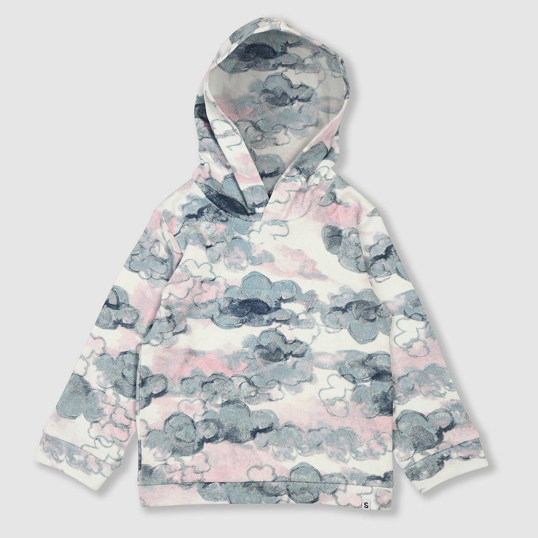 SMALL STORIES Cloud Hooded Sweater