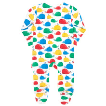 Load image into Gallery viewer, KITE Rainbow Whale Sleepsuit