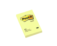 Load image into Gallery viewer, 3M post it notepad #656 yellow