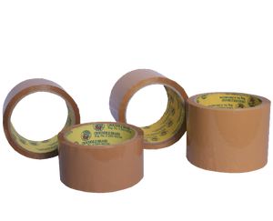 Crocodile tan packaging tape