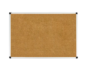 "corkboard with aluminum frame size 24"" x 36"""