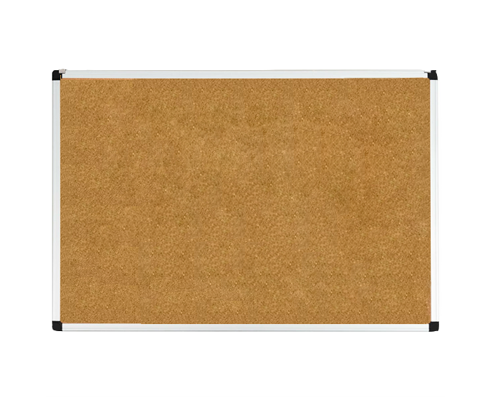 corkboard with aluminum frame size 24