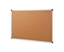 Load image into Gallery viewer, corkboard with aluminum frame