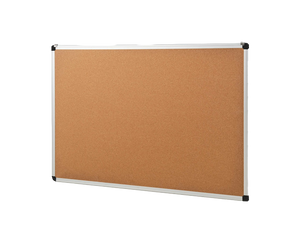 corkboard with aluminum frame