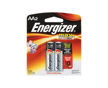Load image into Gallery viewer, Energizer max AA batteries