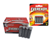 Load image into Gallery viewer, Eveready super heavy duty aaa batteries