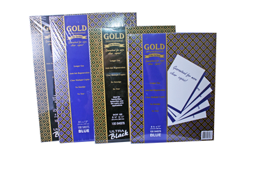 Gold international film carbon paper 100 sheets