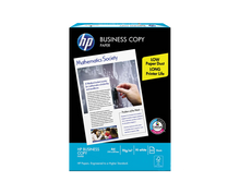 Load image into Gallery viewer, HP business copy paper s20 70gsm size a4 210mm x 297mm