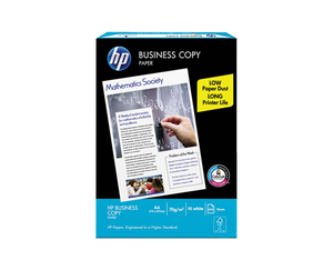 HP business copy paper s20 70gsm size a4 210mm x 297mm