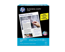 "Load image into Gallery viewer, HP office business copy paper s20 70gsm short 8.5"" x 11"""