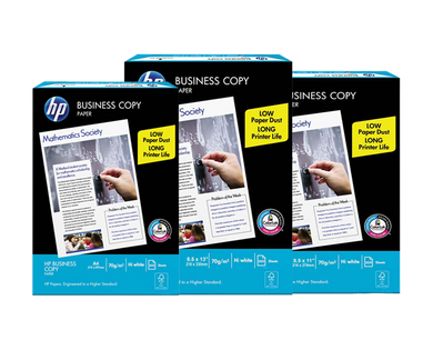 HP business office copy paper s20 70gsm