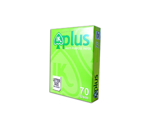IK plus copy paper 70gsm letter size short 216mm x 280mm