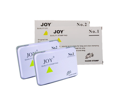 Joy stamp pad no.1 no.2 clear stamp