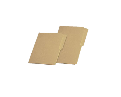 Kraft file folder 14pt long and short