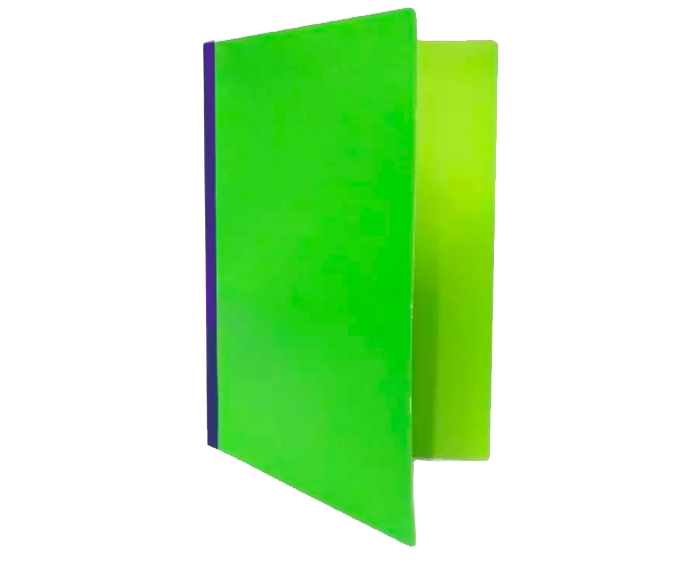 Vaeco local pressboard folder green long