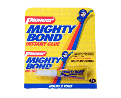 Mighty bond instant glue 3 grams