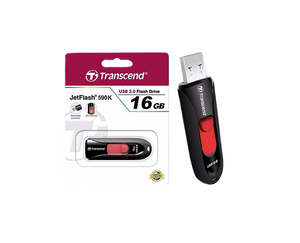 Transcend 16GB USB 2.0 Flash Drive