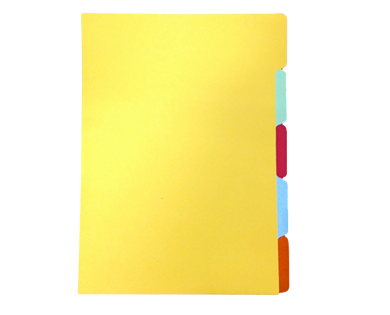 colored folder divider assorted