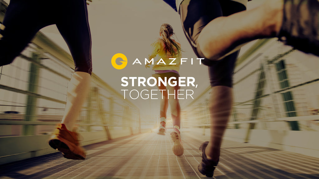 "Amazfit is ""Stronger, Together"" at CES 2021"