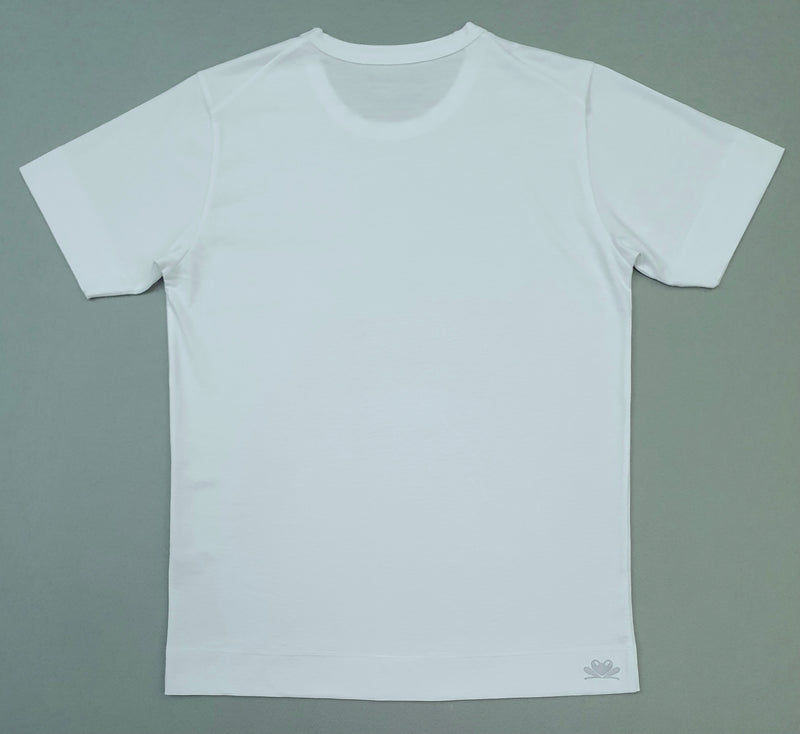 Les, Is More Ready-to-Wear Crew Neck Short-sleeved Cotton T-shirt