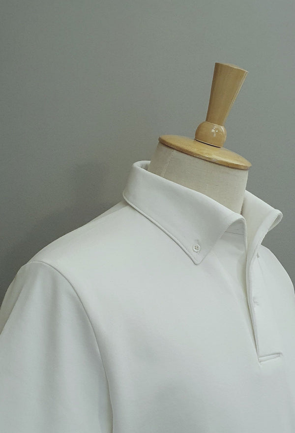 Les, Is More Ready-to-Wear Button-down Short-sleeved Cotton Polo T-shirt