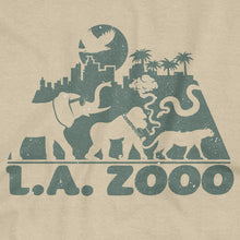 Load image into Gallery viewer, 'LA ZOOO' T-Shirt (Sand)