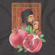 Load image into Gallery viewer, 'Pomegranate Smoke' T-Shirt (Black)